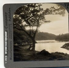 THE HAUNT OF THE LADY OF THE LAKE - LOCH KATRINE, SCOTLAND STEREOVIEW