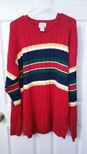 VINTAGE FIELD GEAR ~ Red Sweater Size XLT