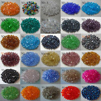 Wholesale!100pcs 4mm Glass crystal 5301#Bicone Beads,U Pick color Free Shipping