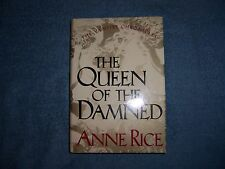 QUEEN OF THE DAMNED by Anne Rice/1st Ed/HCDJ//Literature/Fiction/Thriler