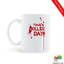 DEXTER Have A Killer Day Mug Coffee Milk Ceramic Cup Creative Home Decor Mugs