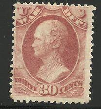 US Scott #O92, Single 1873 Official 30c FVF MH