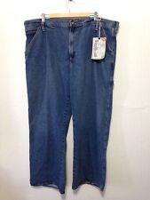 Steve & Barry's ® Carpenter - Full Leg - 42 X 32 Blue Jeans Pants New NWT I169