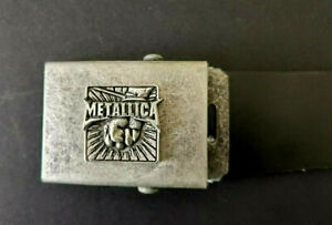 Alchemy Poker METALLICA cinturon cuero 112cm largo