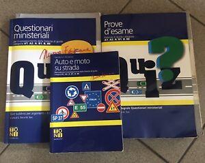 La patente di guida. Manuale teorico, Libro Quiz e Quiz Per Argomento