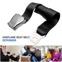 Adjustable Airplane Seat Belt Extension Extender Airline/Buckle Aircraft Safe UK