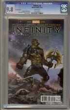 Infinity 2 CGC 9.8 In-Hyuk Lee Variant Black Order Avengers Thanos Black Dwarf 1