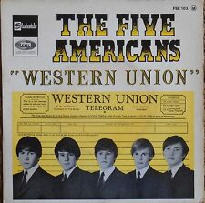 THE FIVE AMERICANS WESTERN UNION EP French 1967