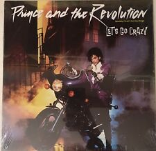 "Prince Let's Go Crazy + Erotic City 12"" Maxi Single Brand New Still Sealed!"