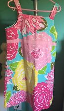 Girls Lilly Pulitzer 6x dress Sun Dress Pink With Flowers