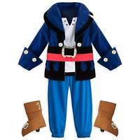 Disney Store Captain Jake & the Neverland Pirates Boys Costume sz 2 3 4 5/6 7/8