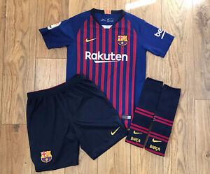 Nike Barcelona Football Kit Age 10-12 Years (Medium) 2018/19 Home kit