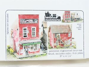 HO 1/87 Scale Banta Modelworks #2090 Chillery's Cafe