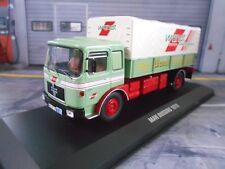 MAN Büssing 19.320 LKW Truck Pritsche Plane Wandt 1975 NEU  IXO 1:43