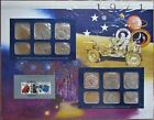 1971 United States Uncirculated Mint Set Panel - Postal Commemorative Society