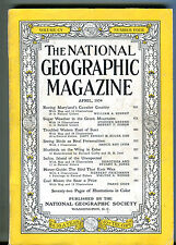 National Geographic Magazine April 1954 Cavalier Country VG 071216jhe