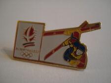 PINS RARE VINTAGE FREESTYLE SKI ACROBATIQUE ALBERVILLE 92 SKIING wxc 12