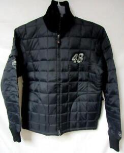 NASCAR Womens Small Jimmie Johnson #48 Full Zip Puffer Jacket YZ 99