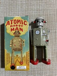Schylling Atomic Robot Man Tested and Works with Certificate of Authenticity