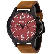KIENZLE 1822 Pilot Herren Chronograph, Datum, Vintage Lederband
