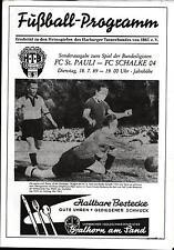 18.07.1989 FC St. Pauli - FC Schalke 04