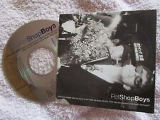 Pet Shop Boys Where The Streets Have No Name /How Can You Expect  CD Single