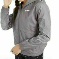 Nike Essential Women's Gray Wind & Water Repellent Track Jacket Size Small New