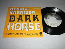 GEORGE HARRISON 45 TOURS BELGIQUE DARK HORSE