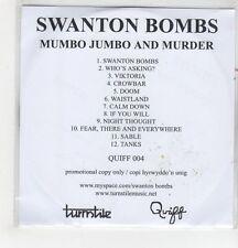 (GH345) Swanton Bombs, Mumbo Jumbo And Murder - DJ CD