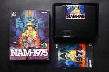 NAM-1975 (75) Carton Box SNK Neo Geo AES Excellent.Condition JAPAN
