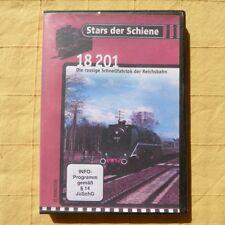 2 x DVD Die Dampflok BR 18 201 und die V 200 Wirtschaftswunder auf DB Gleisen