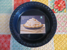 Martha Stewart Cobalt Blue Ceramic Pie Dish from Macy's with original tag.