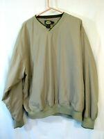 Cabela's Lined windbreaker Pullover Men's L NWOT unworn mint!