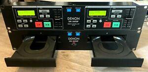 DENON DN 2000F PRO DUAL TWIN CD PLAYER - MOBILE DISCO DECKS GAMESROOM CD CDJ DJ