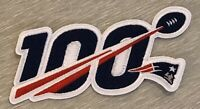 🏈NEW 2019 NEW ENGLAND PATRIOTS 100 Year 100 th Anniversary Patch Iron On NFL