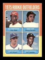 1975 Topps Set Break # 622 Rookie Outfielders Fred Lynn EX-MINT *OBGcards*