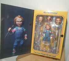 NECA Child's Play Chucky Figura de Acción Buenos Ultimate 10cm * original de Reino Unido Stock