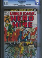 Hero for Hire  # 12 CGC 9.8  White Pages. UnRestored.
