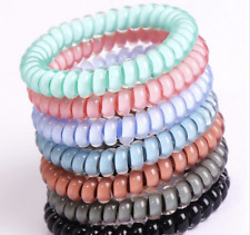 Candy Color Telephone Wire headbands (7 Pack)