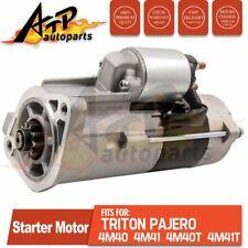 Starter Motor FOR MITSUBISHI PAJERO NK NM NJ TRITON MK 1996-03 2.8 DIESEL 4M40