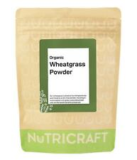 250g organic WHEATGRASS powder by NUTRICRAFT™ - EU source - wheat grass