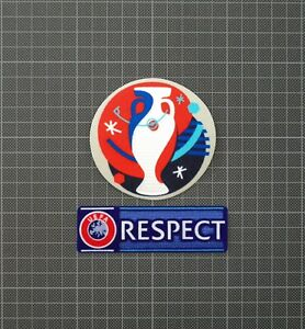 UEFA Euro 2016 & RESPECT Sleeve Patches/Badges