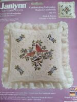 Candlewicking Embroidery Kit Janlynn Birds & Berries Picture / Pillow sealed