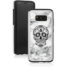 Marble Shockproof Hard Case Cover Protector For Samsung Galaxy Sugar Candy Skull