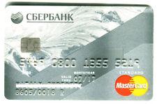 Russia Mastercard Debit Card Sberbank