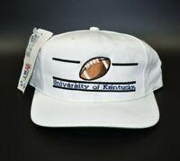 Kentucky Wildcats Football The Game Split Bar Vintage 90s Snapback Cap Hat - NWT