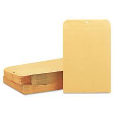 Quality Park Clasp Envelope 10 x 13 28lb Brown Kraft 100/Box 37897