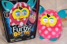Hasbro Furby Boom Interactive Talking Pink w/White Original Box Works Great