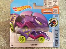 Hot Wheels 2016 #206/250 Vampyra Violet Rue Beasts étui L