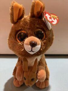 TY Beanie Boo - Kipper The Kangaroo 15cm/6inch BNWT